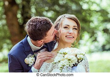 Wedding young couple
