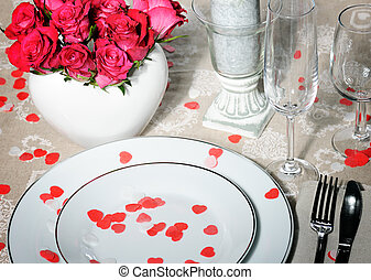 Weddings place setting