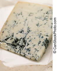 Wedge of Leicestershire Stilton Cheese