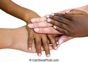 wedloop, verbonden, menselijk, samen.