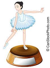 wedstrijdbeker, ballet dansen
