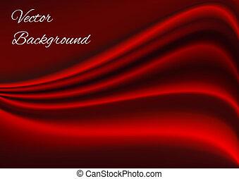 weefsel, textuur, vector, artistiek, achtergrond, rood