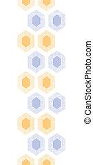 weefsel, verticaal, paarse , model, abstract, seamless, gele achtergrond, textured, honingraat