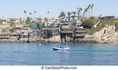 week-end, prime, loyer, plage, luxe, usa., los, beachfront, newport, propriété, vrai, port, pacifique, californie, océan, maisons, front mer, côte, riche, angeles., vacances, suburbain, propriété, front mer, maisons