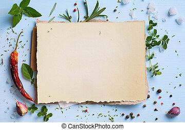 week, kunst, restaurant, voedingsmiddelen, menu, zelfgemaakt, achtergrond;, italiaanse