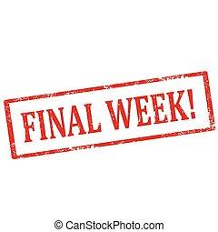 week!-stamp, finale