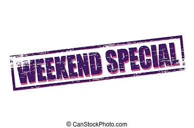 weekend, bijzondere