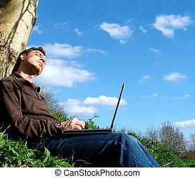 weekend), handelaar, dromen, (internet