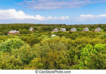 Weekend houses, Chiloe Island, Chile