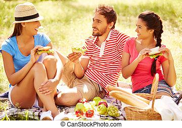 Weekend picnic