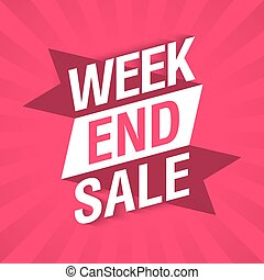 Weekend Sale banner