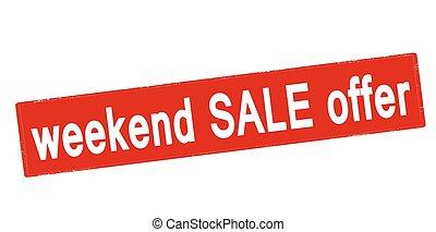 Weekend sale offer