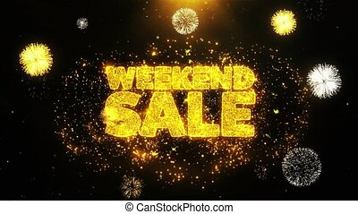 Weekend Sale Wishes Greetings card, Invitation, Celebration...