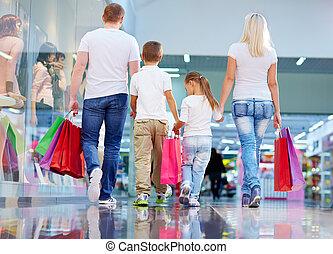 Weekend shopping