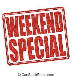 Weekend special stamp