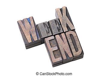 weekend word isol