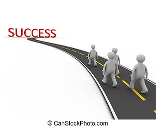 weg aan succes