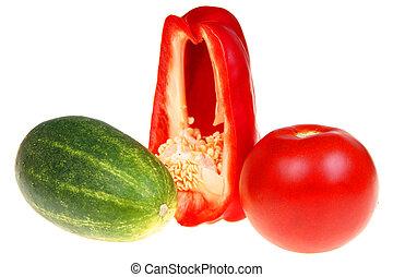 wegetables, e, frutta