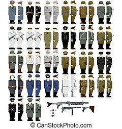 wehrmacht, seconde, pendant, soldats, guerre mondiale