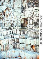 carrara gr ber bagger steinbruch marmor grenzstein bridges. Black Bedroom Furniture Sets. Home Design Ideas