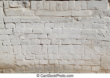 weißer ziegelstein, wand, beschaffenheit