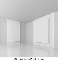 weißes, abstrakt, architektur