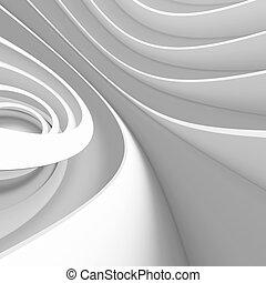 weißes, architektur, design