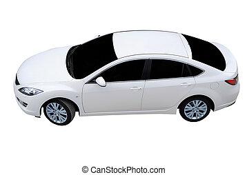 weißes, auto