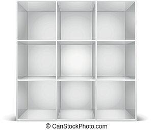 b cherregal illustrationen und clip art. Black Bedroom Furniture Sets. Home Design Ideas