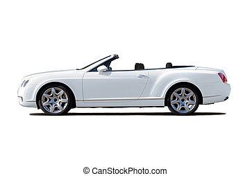 weißes, cabriolet