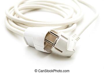 Weißes elektrisch kabel Clip-Art und Stock Illustrationen. 7.424 ...