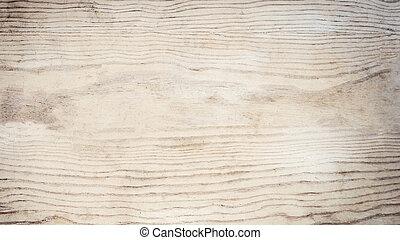 weißes, farbe, weich, hölzerne beschaffenheit, hintergrund, als, hintergrund