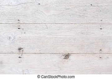 weißes, holz, planke, hintergrund