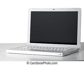 weißes, laptop