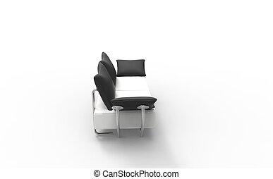 sofa modern schwarz gelber bohnenkaffee sofa modern. Black Bedroom Furniture Sets. Home Design Ideas