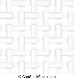 weißes, seamless, geometrisch, beschaffenheit