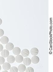 weißes, tabletten
