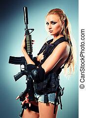 weibliche , armee