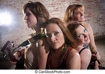 weibliche , musiker