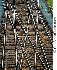 weich, a, eisenbahn