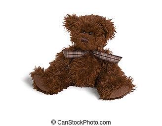 weich, bär, teddy