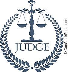 weigher, skalpy, wieniec, justitia, laur, albo