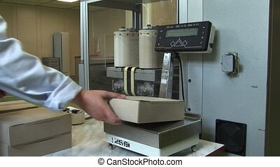 Weighing medicines