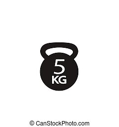 weight 5 kg icon
