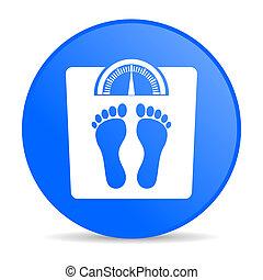 weight internet blue icon