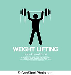 Weight Lifter Athlete.