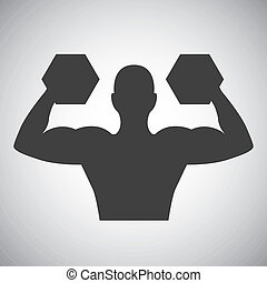 weight lifting design - weight lifting graphic design ,...