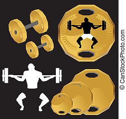 Weight Lifting Set