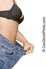 Weight Loss Cutout