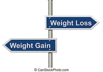 Weight Loss versus Weight Gain